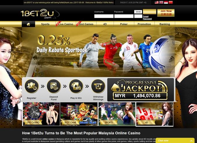 1bet2u online betting Malaysia